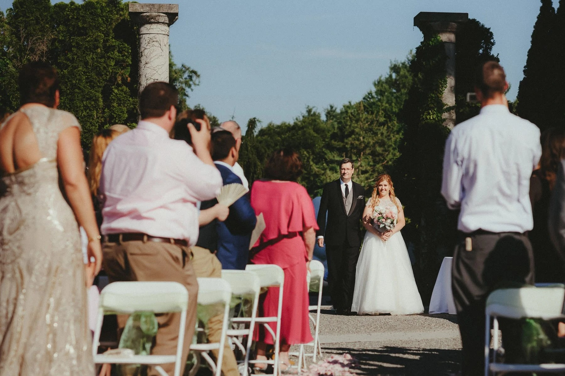 Wedding Ceremony in GROUNDS FOR SCULPTURE