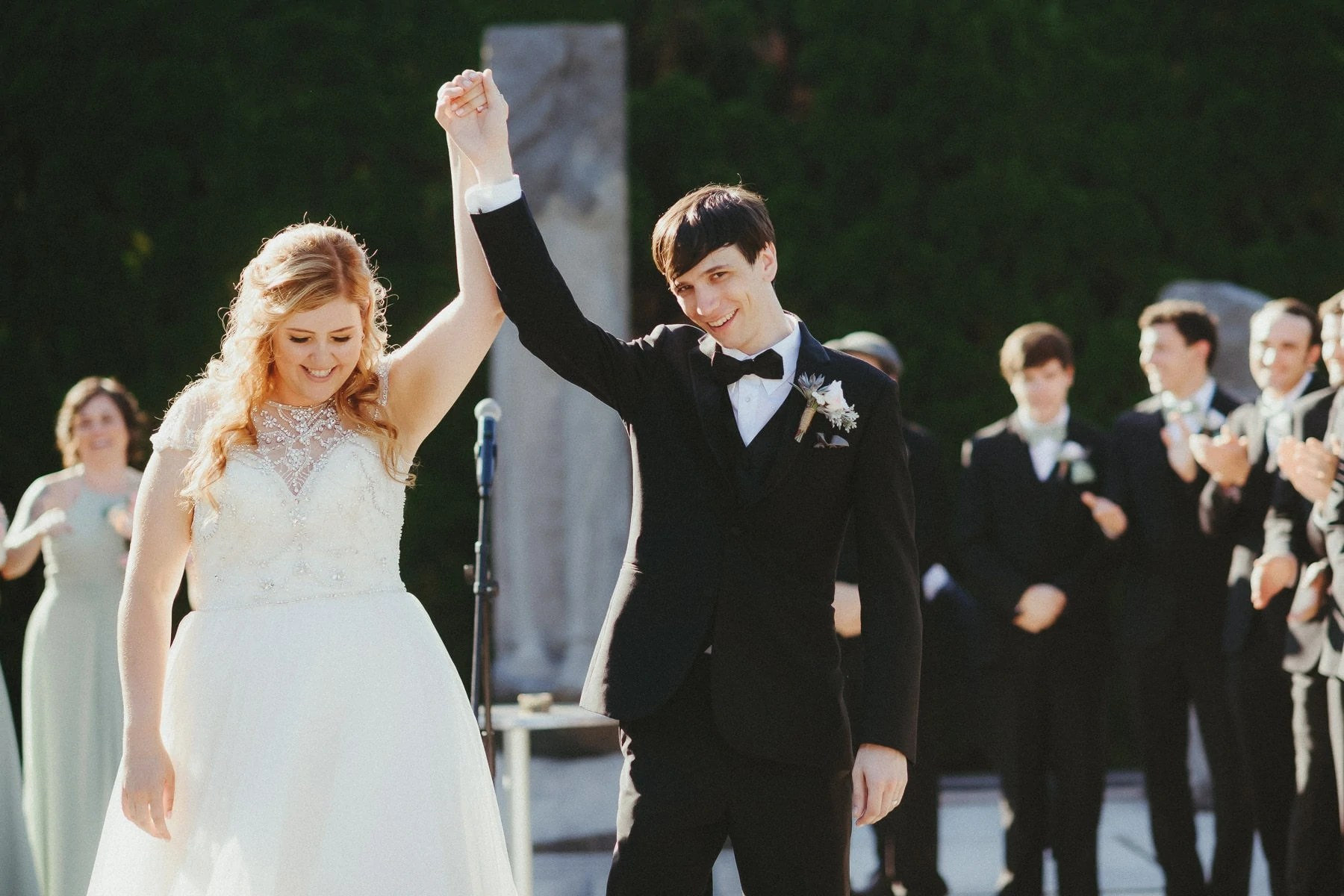 Wedding Ceremony in New Jersey GROUNDS FOR SCULPTURE