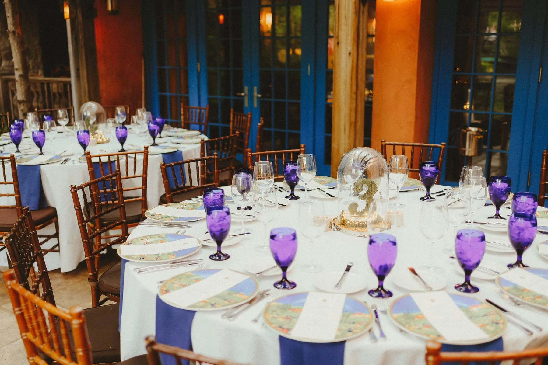 Rat's Restaurant in New Jersey ready for wedding reception