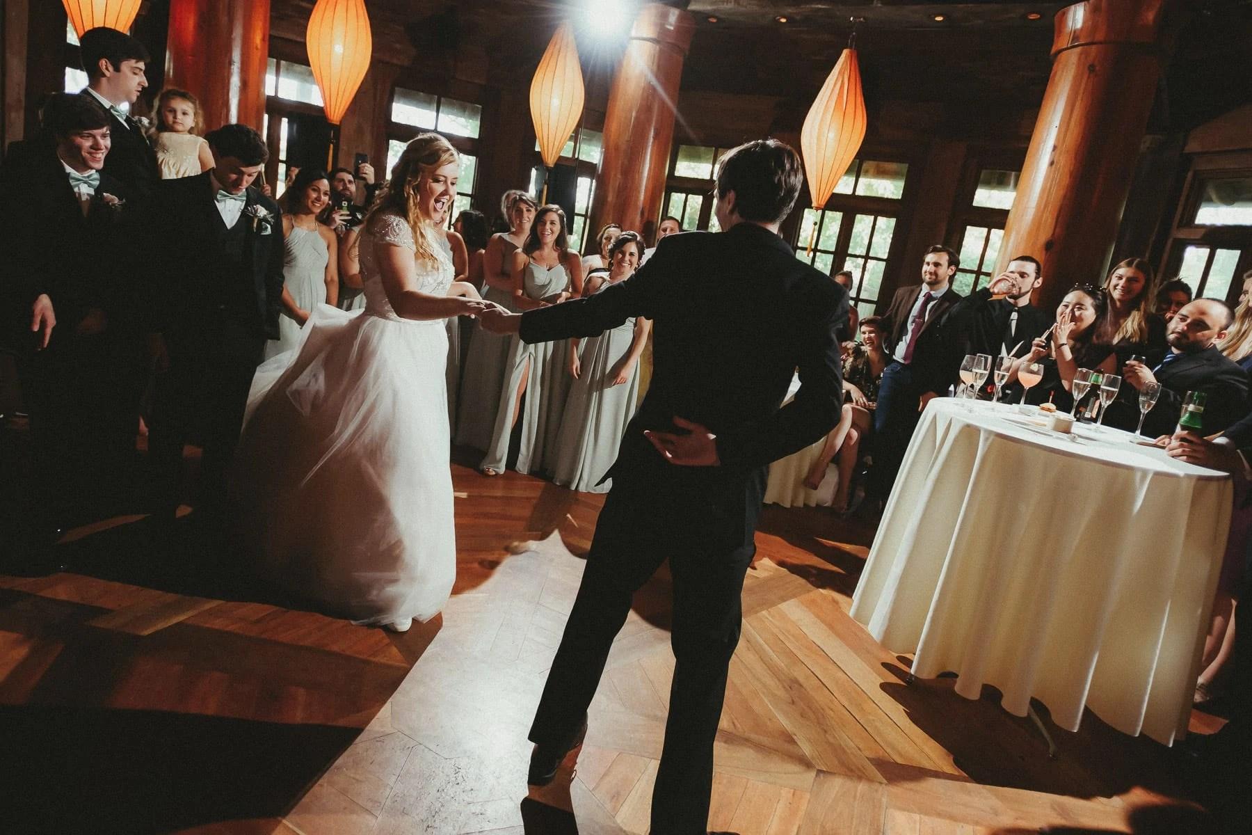 Wedding reception in Rat's Restaurant
