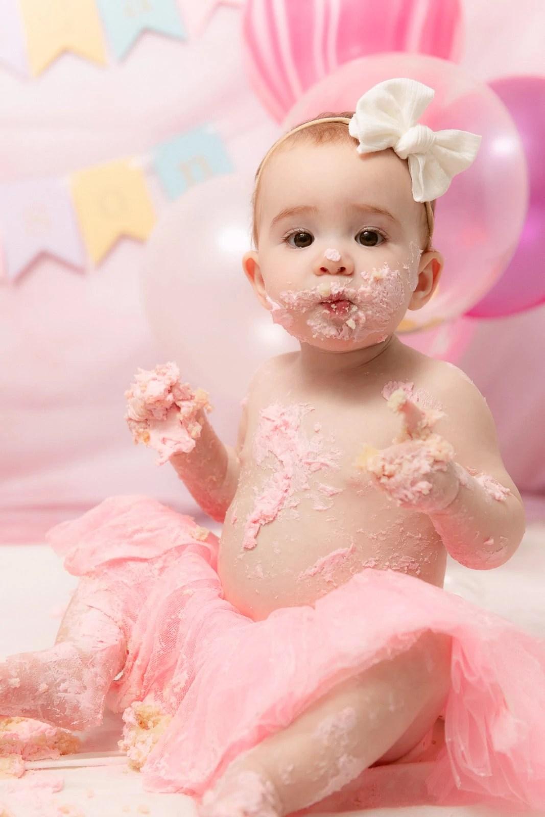 smash the cake first birthday
