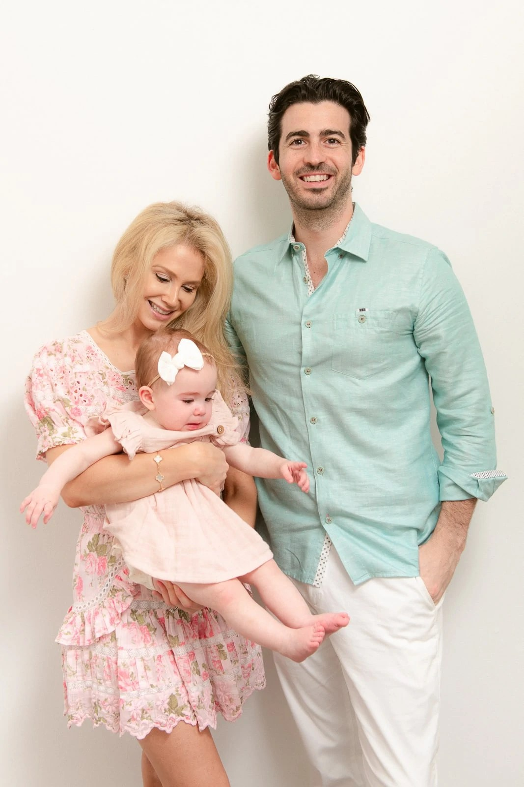 First birthday baby photoshoot