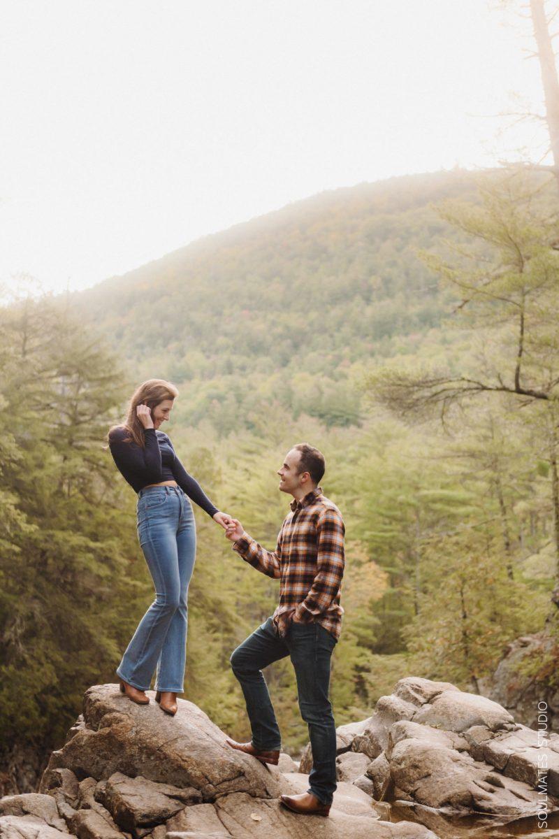 Adirondack Mountains Engagement Session