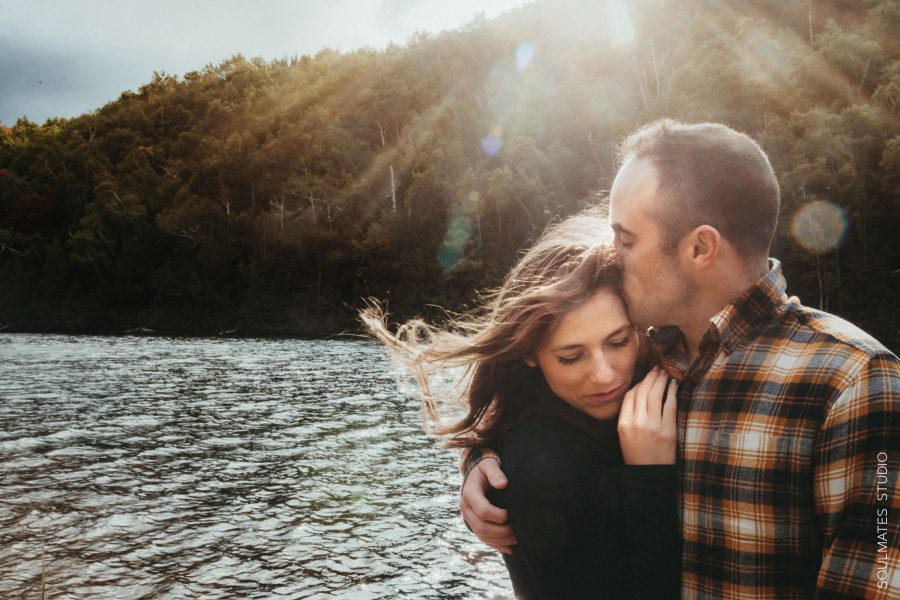 Adirondacks Lake Placid Engagement Session