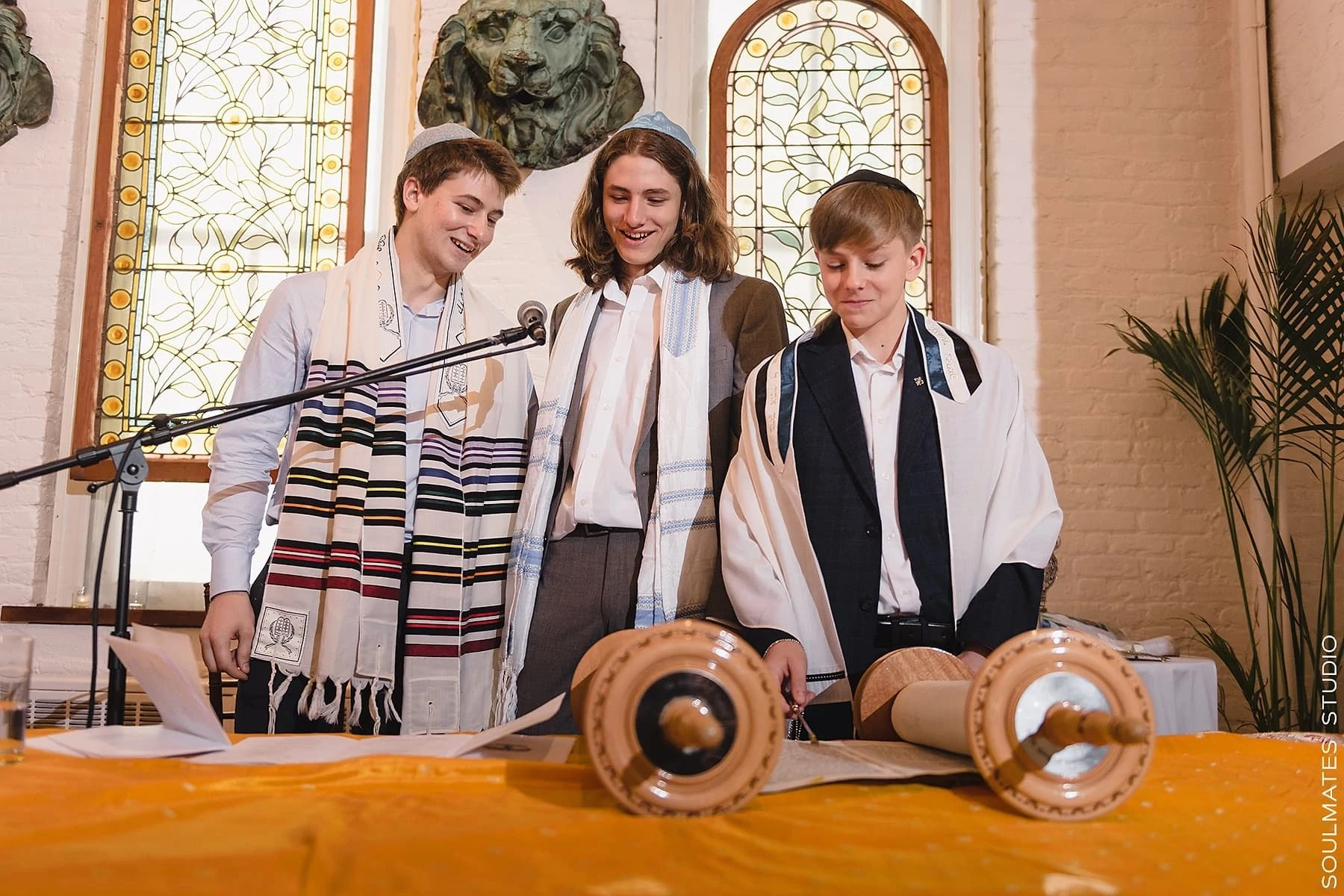 New York Bar mitzvah ceremony