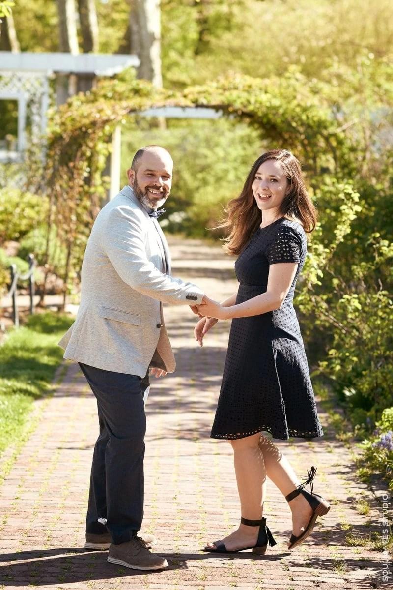 Botanical Garden Couple session