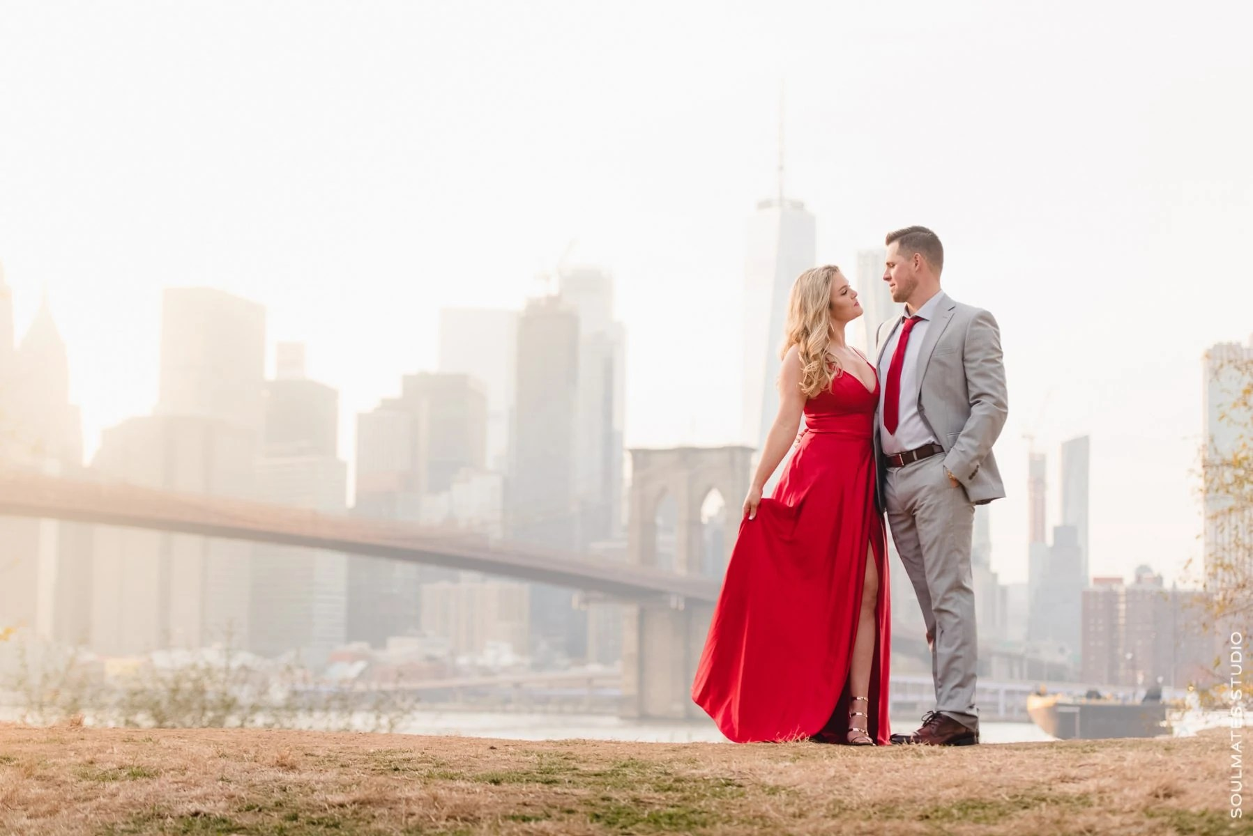 Dumbo waterfront engagement