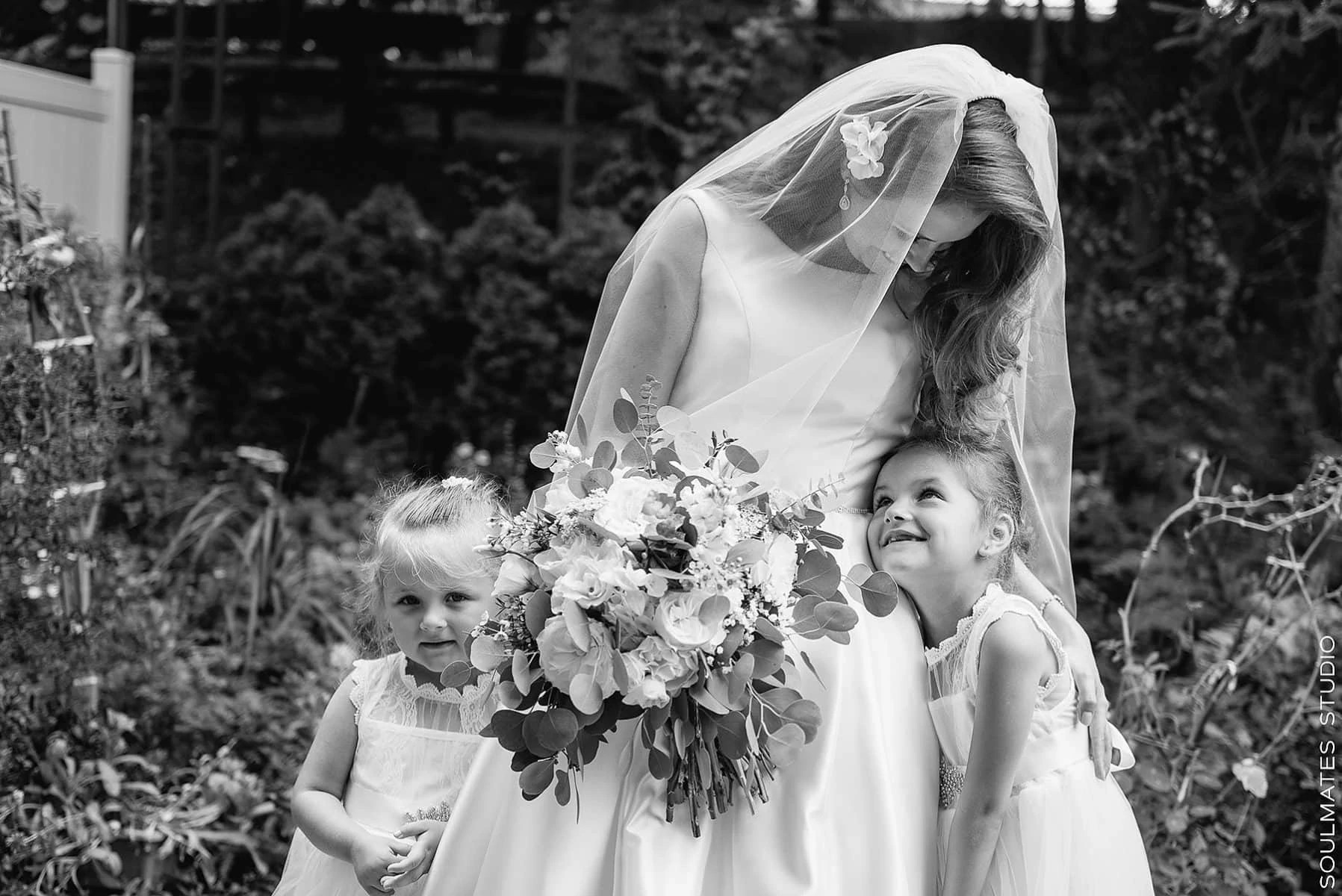Brooklyn Bride and Flowers girls