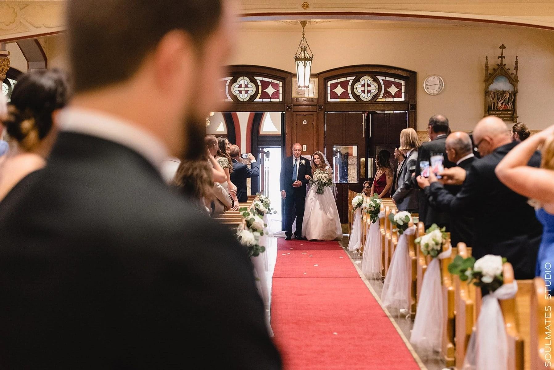 Brooklyn Saint Stanislaus Kostka Church Wedding Ceremony