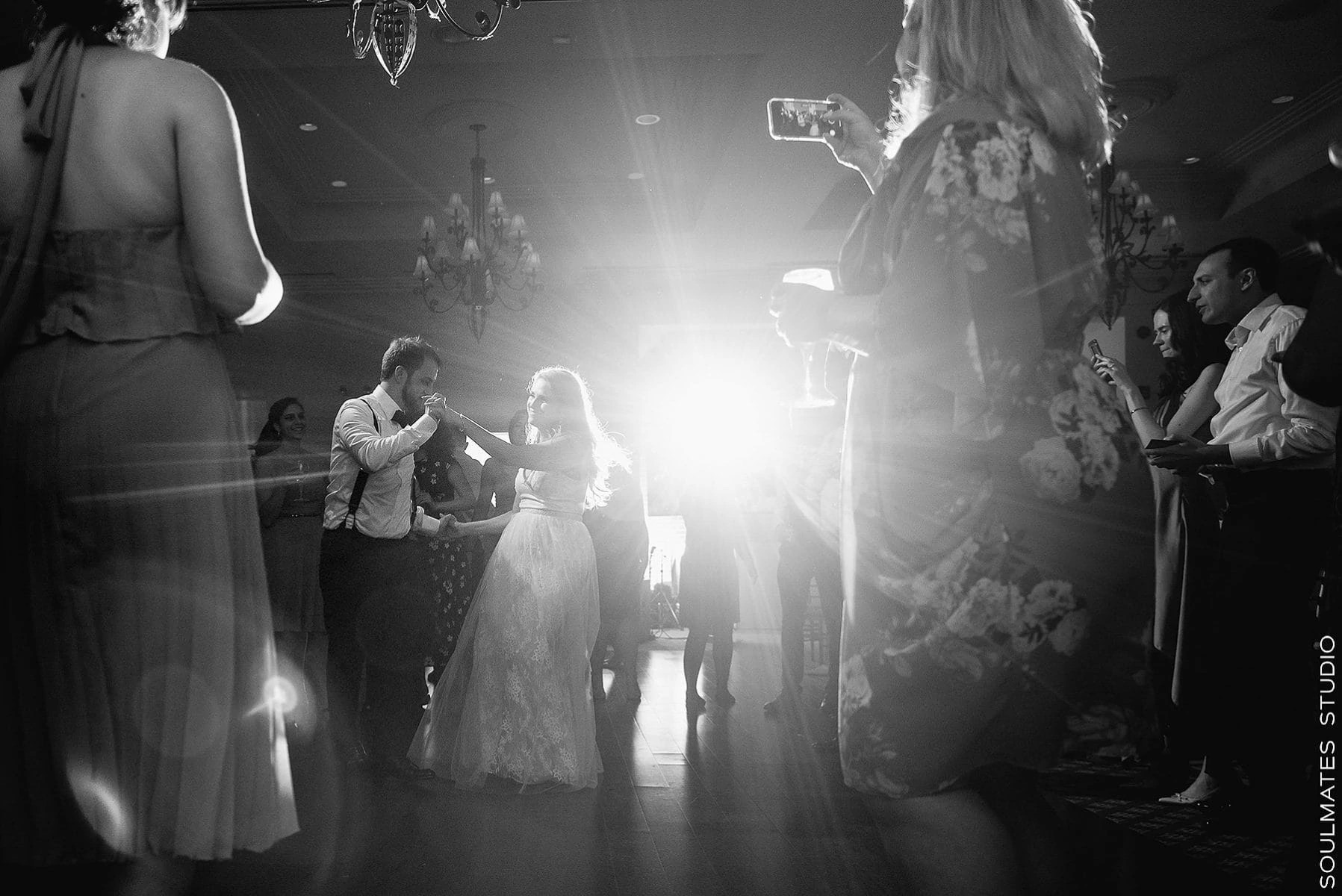 Black and White First dance