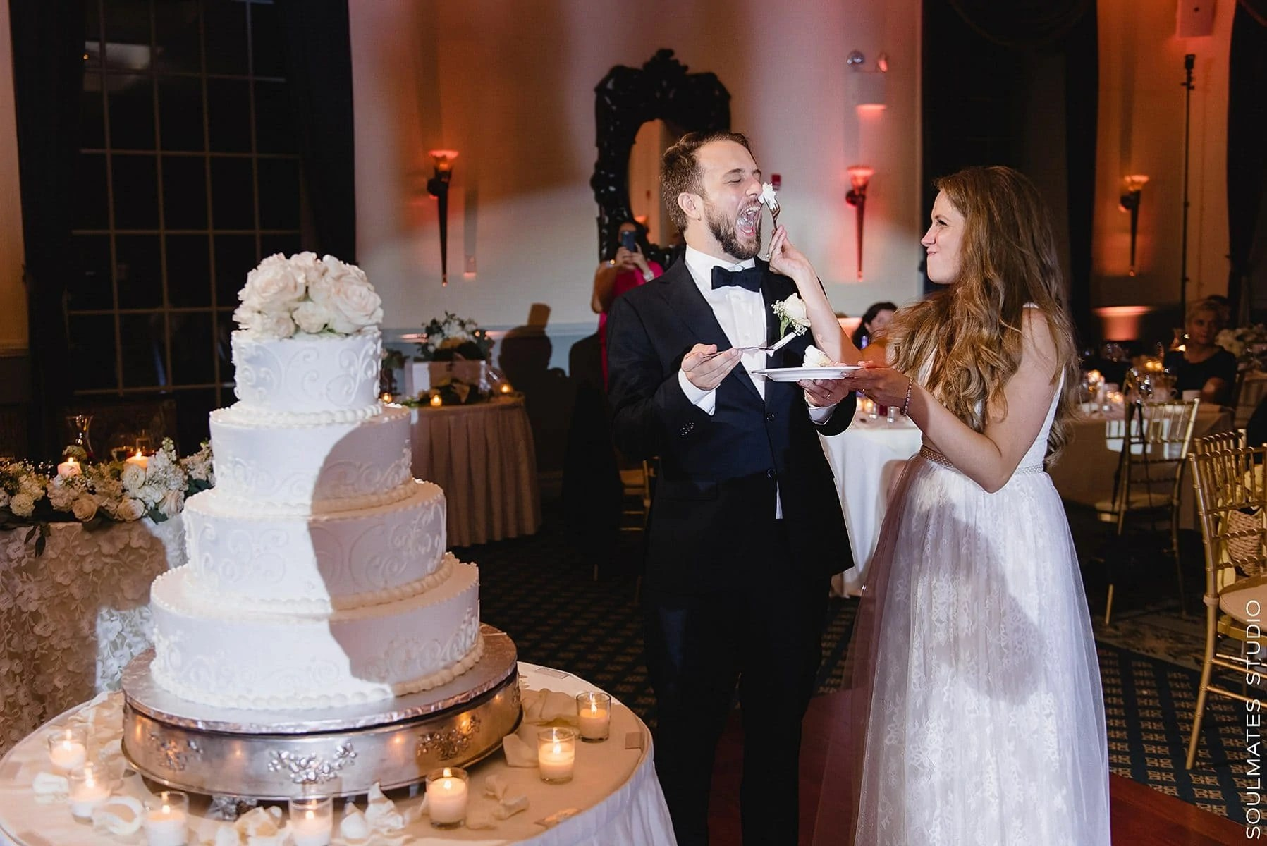 Funny Cake Cutting Moment