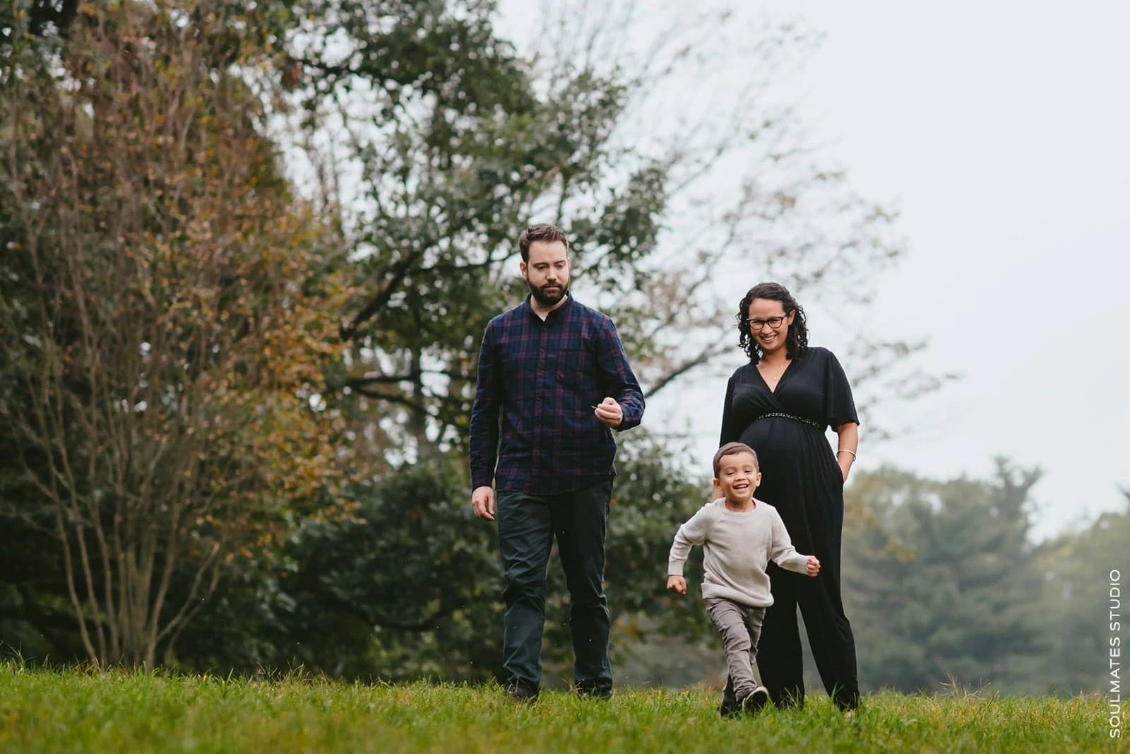 Fun Family Portrait from Brooklyn Prospect Park session