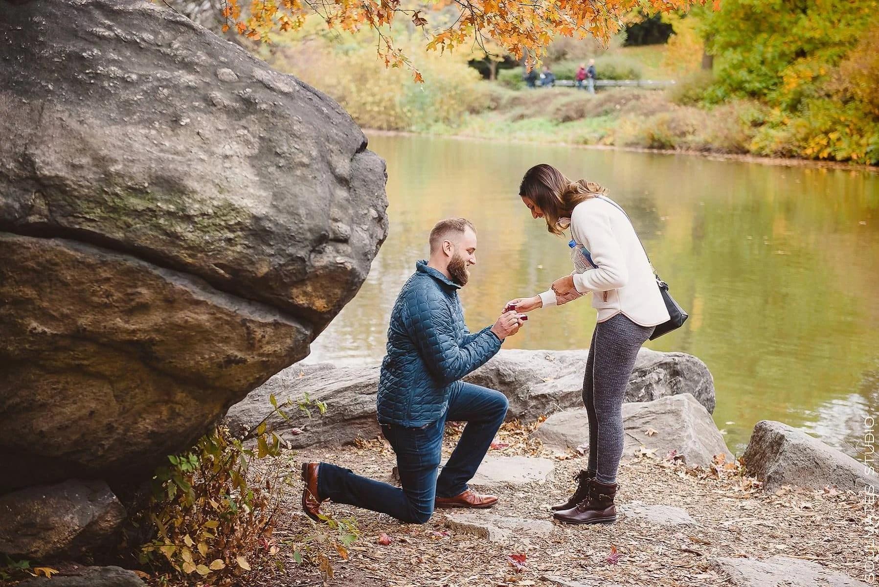 Central Park Surprise Proposal