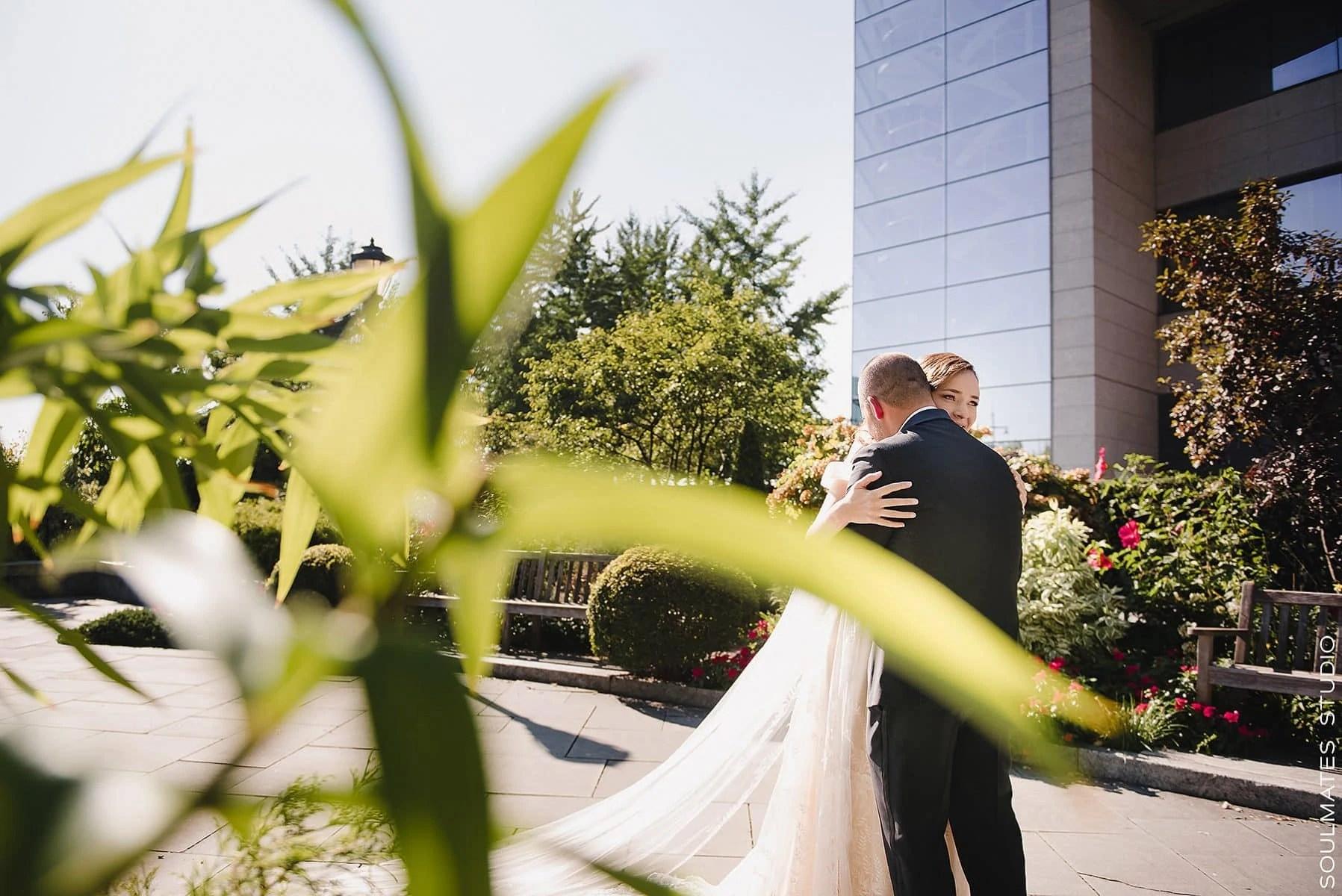 Manhattan Battery Gardens Wedding First look