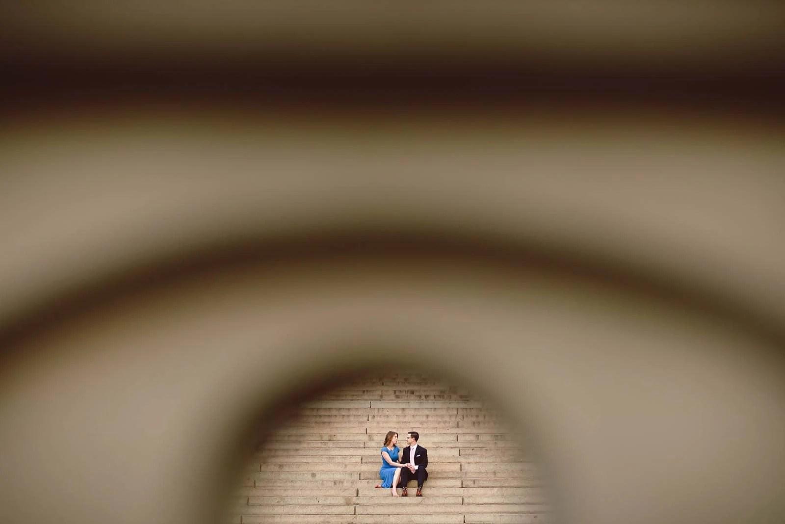 Bethesda Terrace Engagement