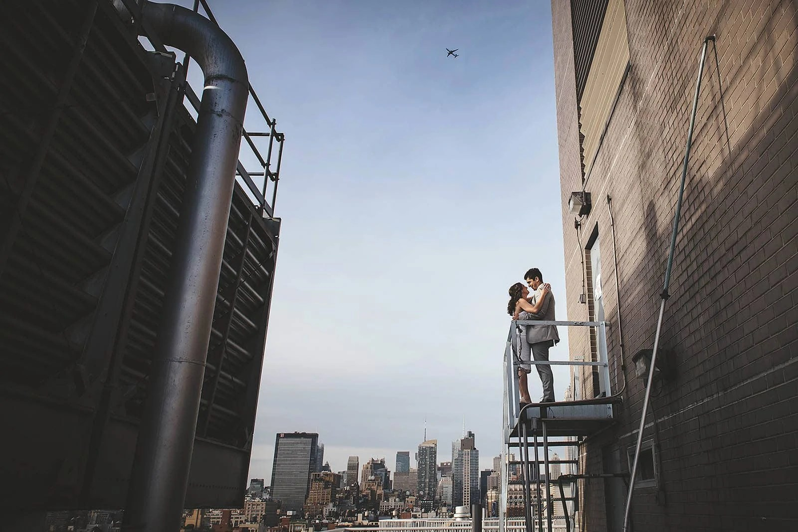 Manhattan Engagement photos prompts for couples