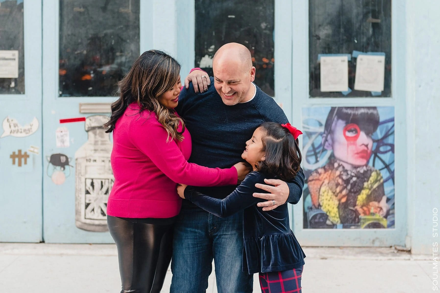Manhattan Meatpacking District Family Session