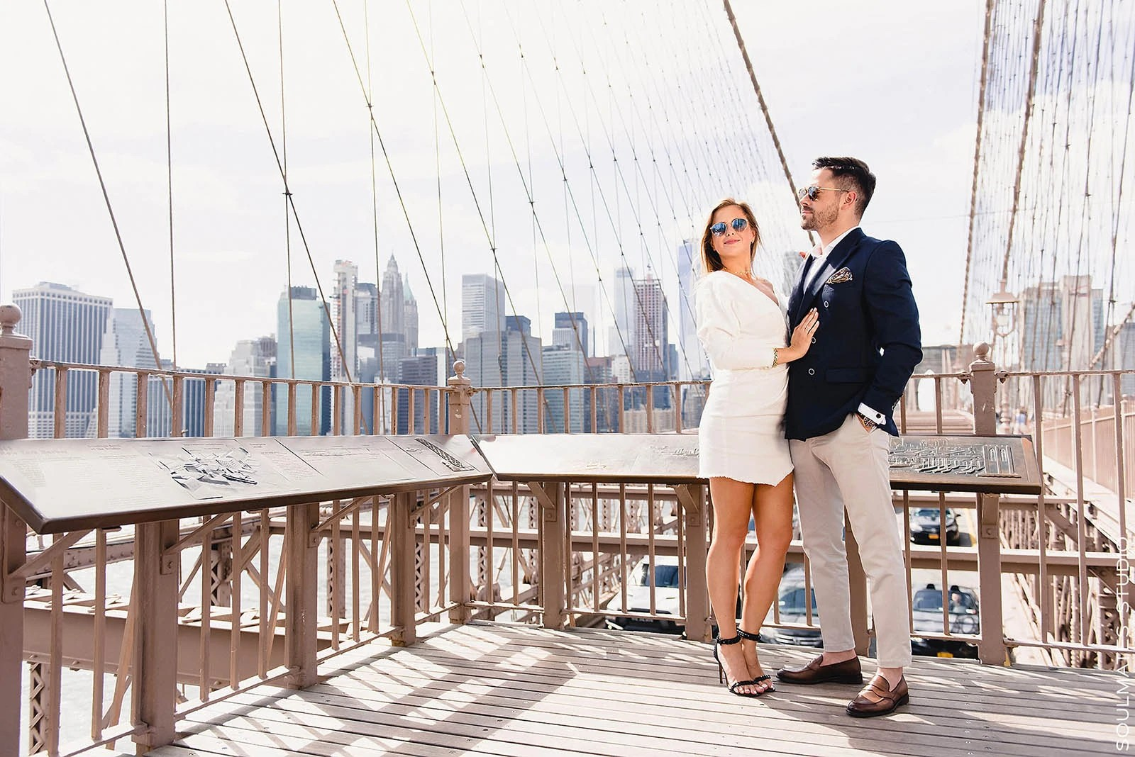 Brooklyn Bridge Engagement portfolio