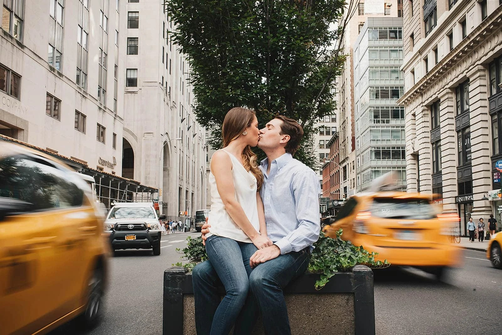 NYC engagement session tips