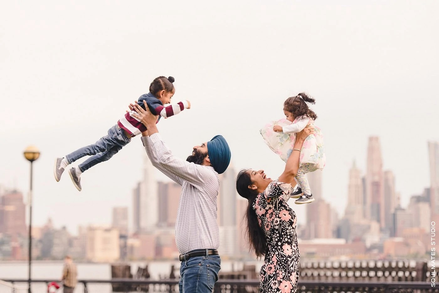 New Jersey Pier A Park Family Session