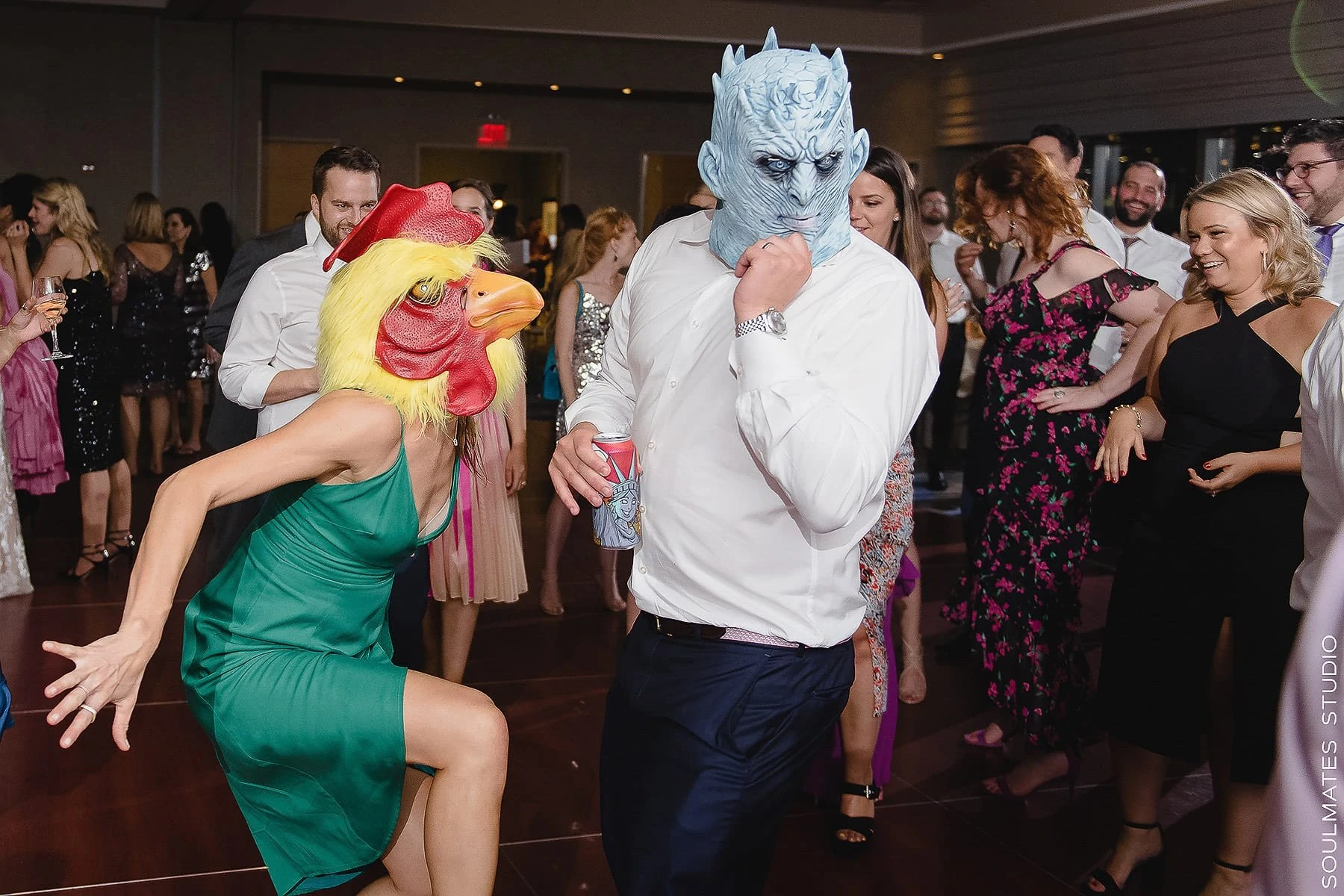 New Jersey Fun Wedding Reception Dance