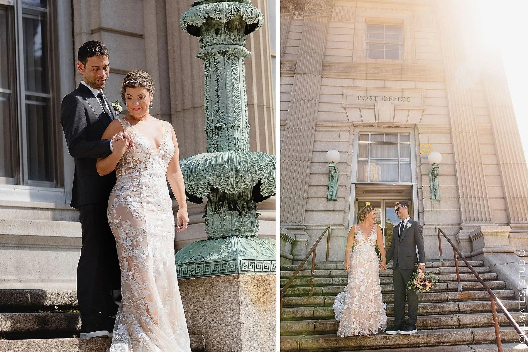 Jersey City Wedding Portraits