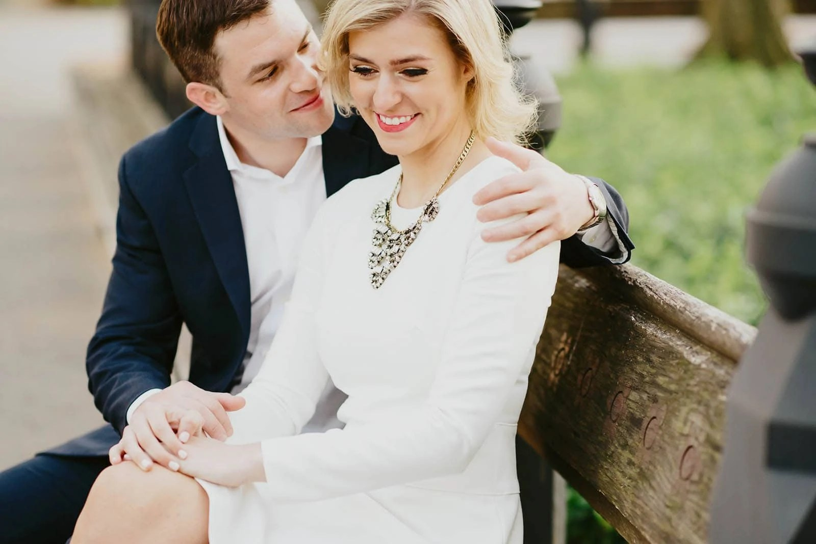 Classy Engagement Portraits
