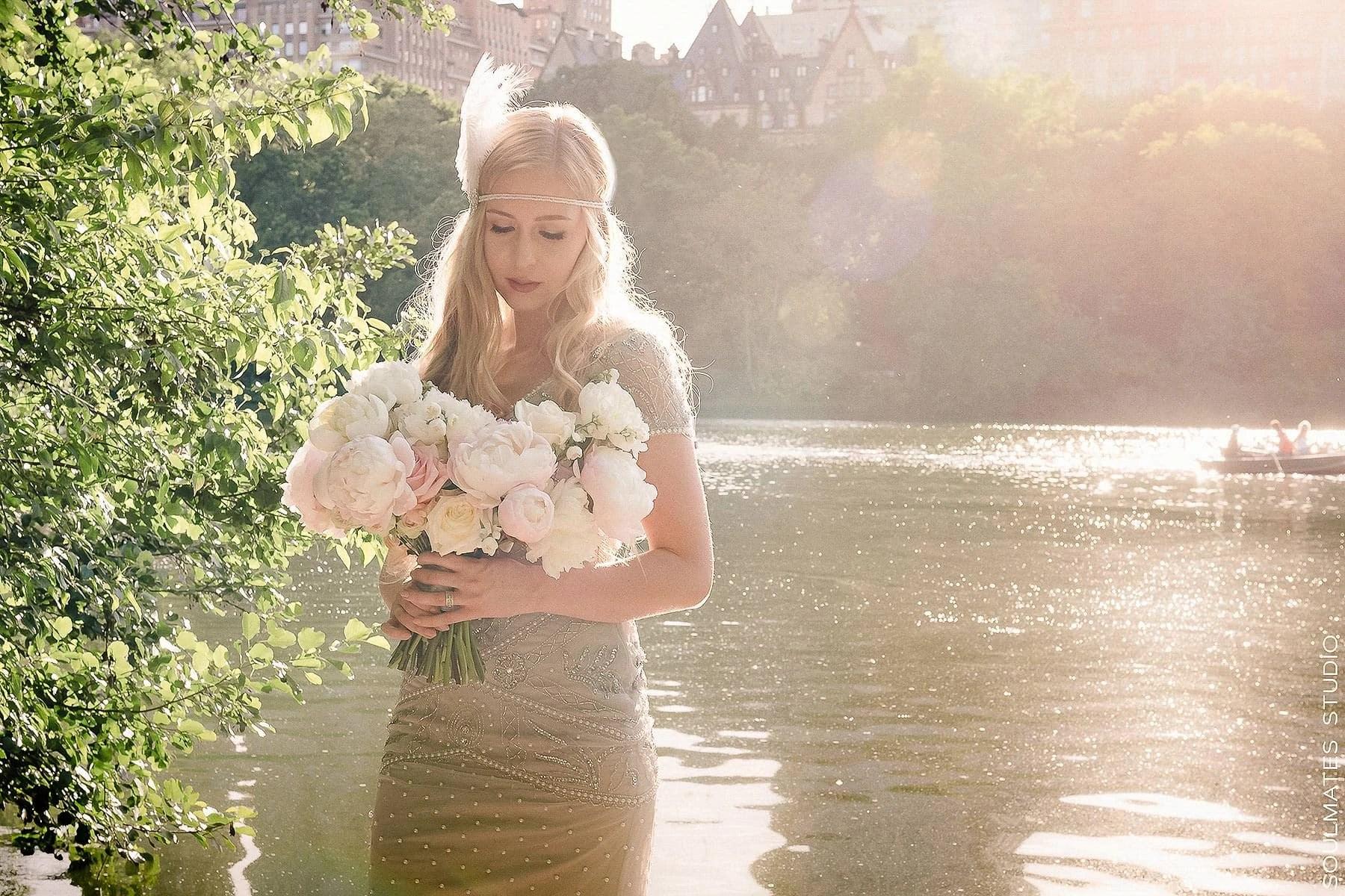 Elopement Wedding Bride Portrait