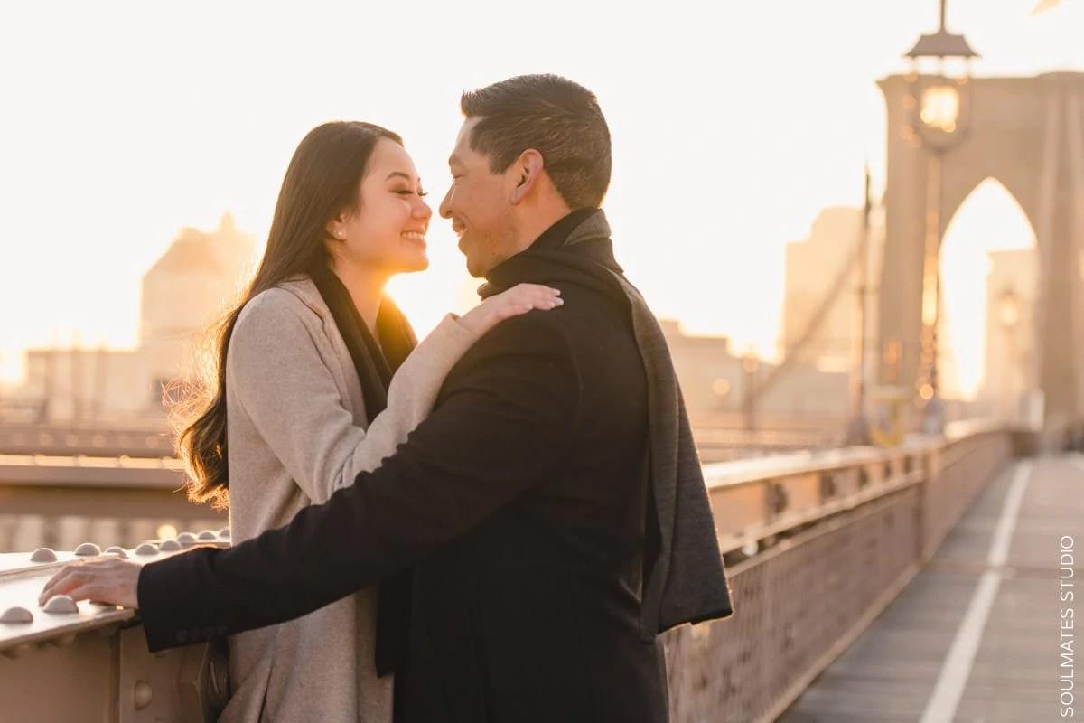 Brooklyn Bridge Surprise Proposal