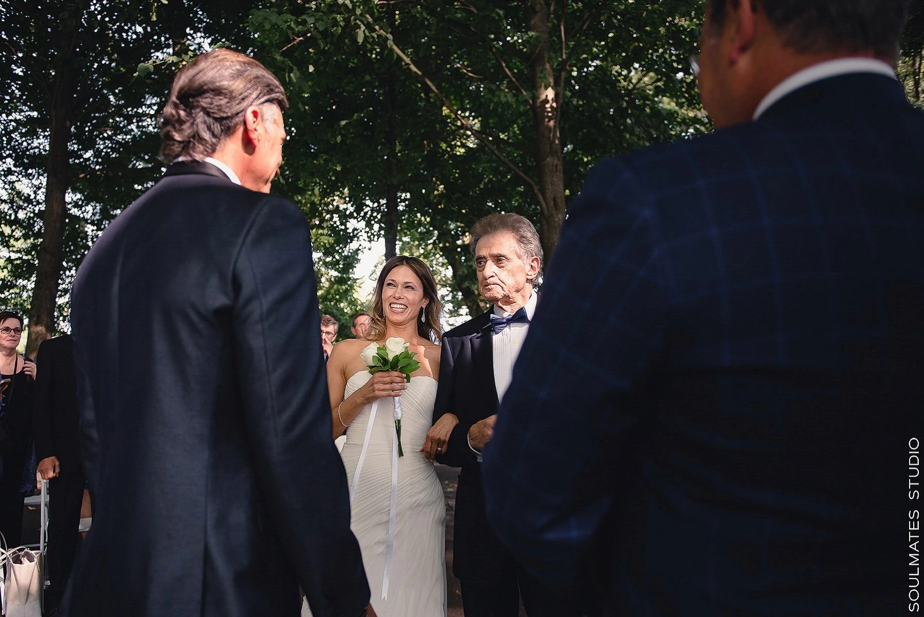 New Leaf at Fort Tryon Park Elopement Wedding