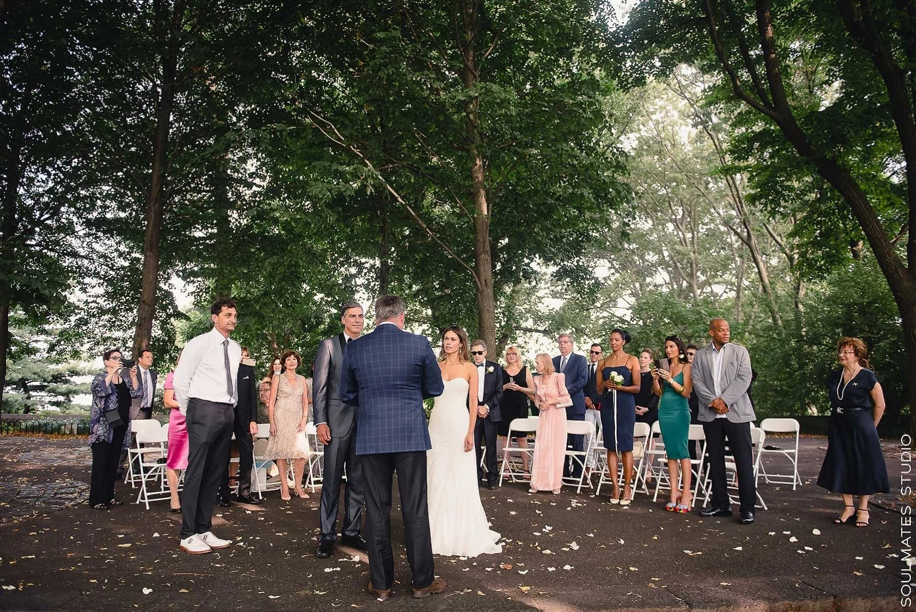 Fort Tryon Park Elopement Wedding Ceremony