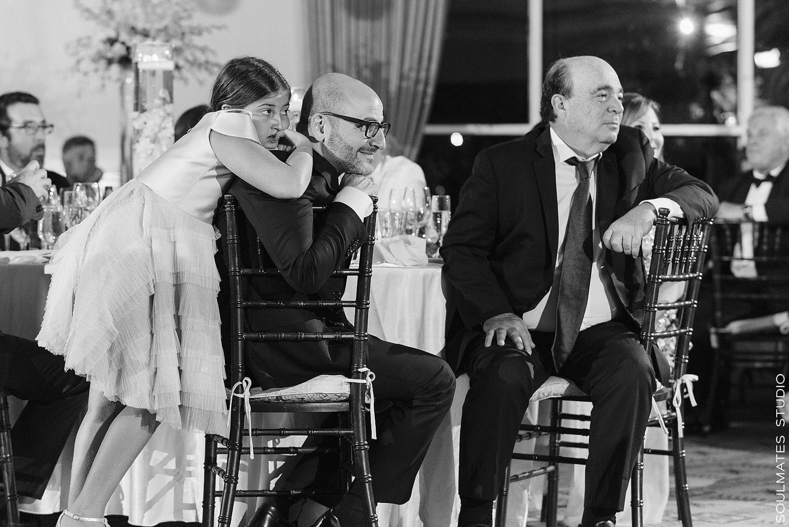 Candid moment at Paramount Country Club Wedding Speeches