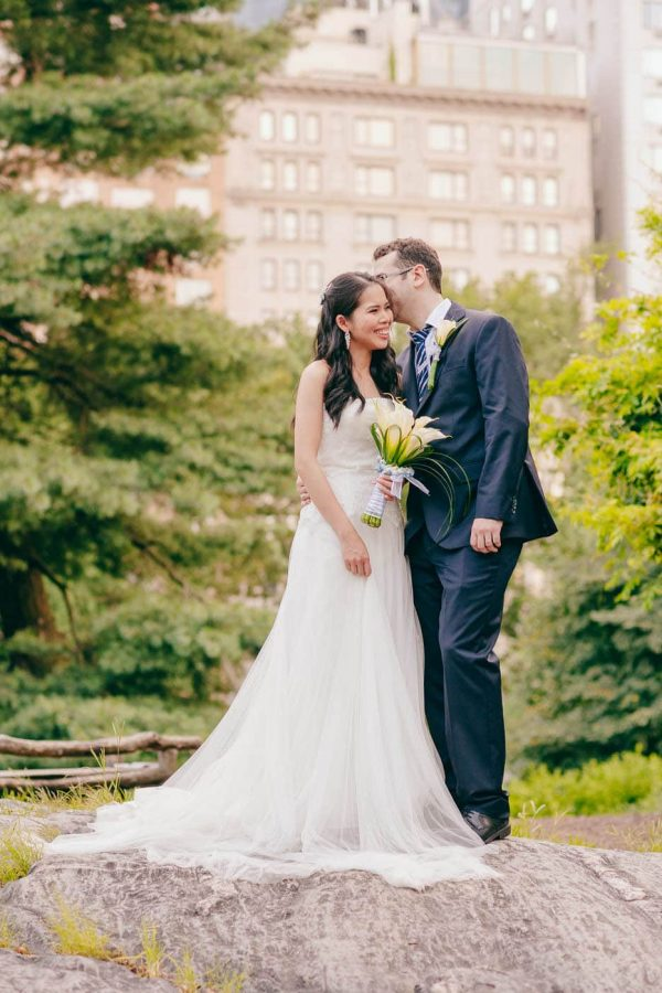 Central Park Cop Cot Elopement Wedding