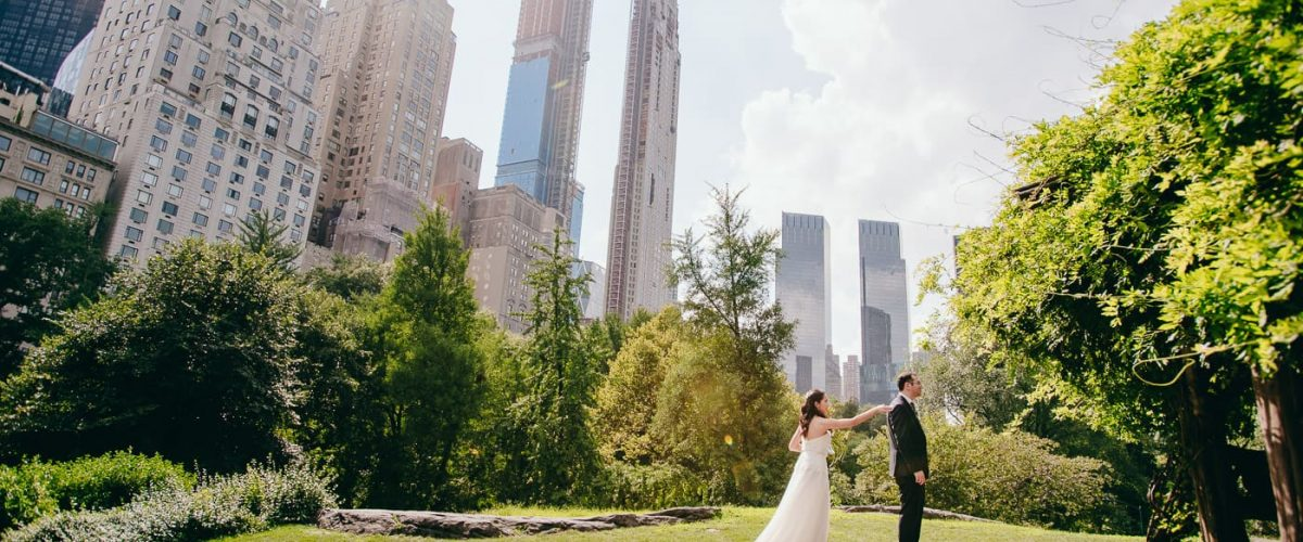Central Park Cop Cot Elopement Wedding - 98886