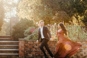 Long Island Planting Fields Engagement Session