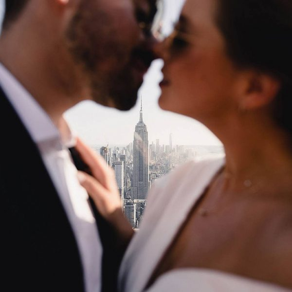 Top of The Rock Engagement
