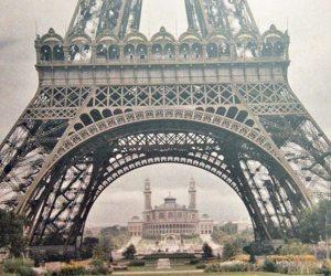 Paris colorida 100 anos atrás