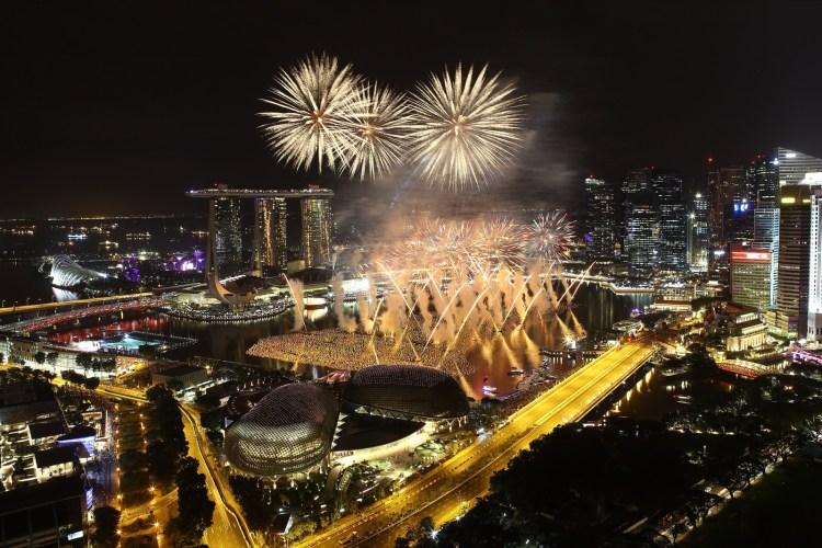 Ano novo Cingapura
