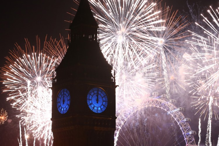 Ano novo Londres