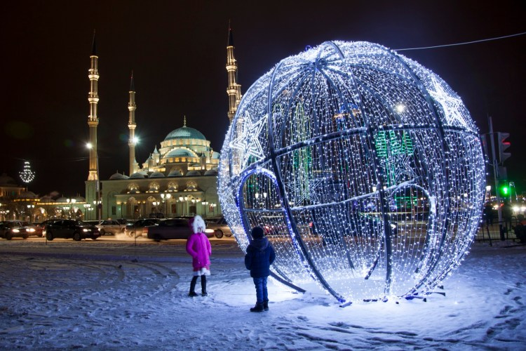 Ano novo Rússia