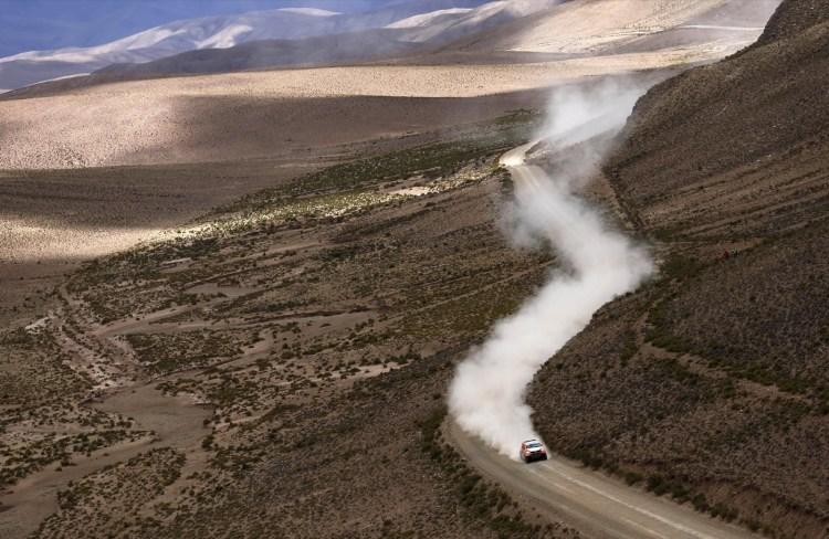 Ronan Chabot da França, Bolivia, REUTERS/Marcos Brindicci TPX IMAGES OF THE DAY