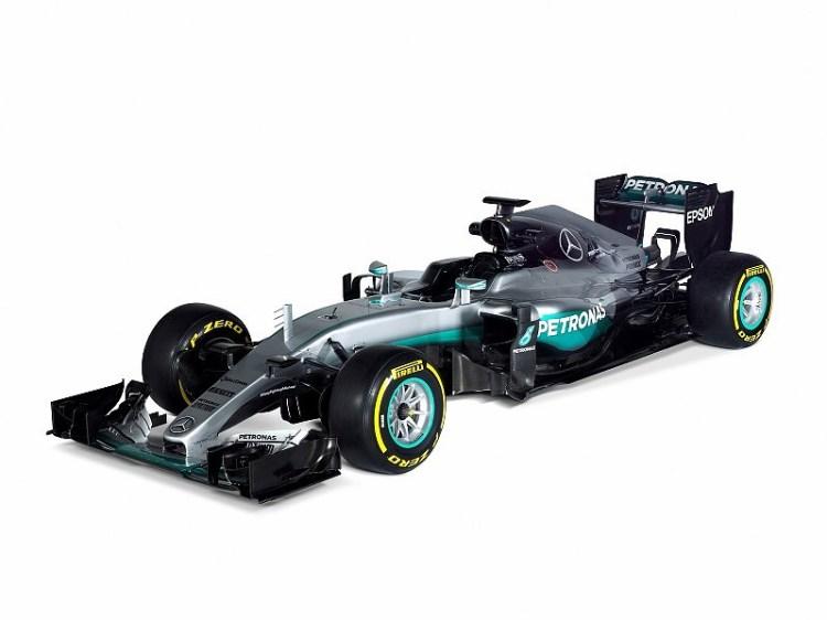 F1 W07 Hybrid