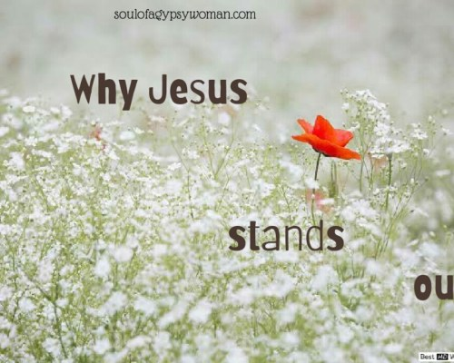 Why Jesus Stands Out