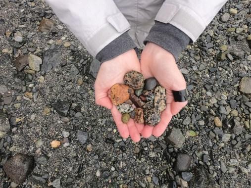 Pebbles in my hands