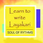Learn to write layakari
