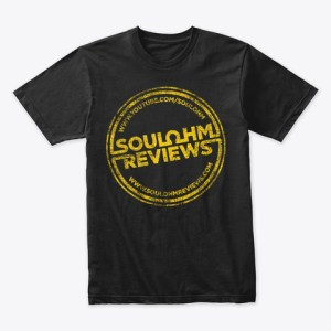 Mens distressed Logo T Shirt