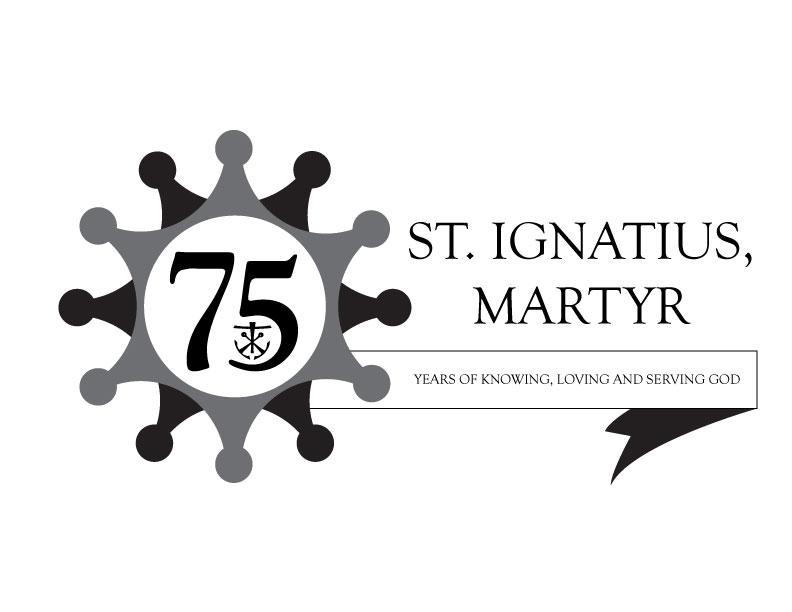 St Ignatius 75th Anniversary Concept
