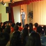 Talk on stage