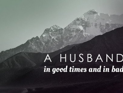 Being a Husband in the Good and the Bad