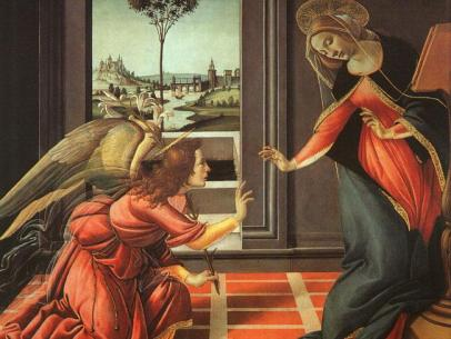 My Favorite Theme in Art – The Annunciation